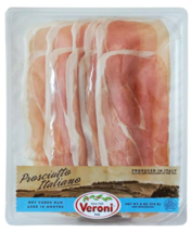 Veroni Pre-Sliced Prosciutto Italiano - 3 PACKS x 4 oz EACH - $34.64