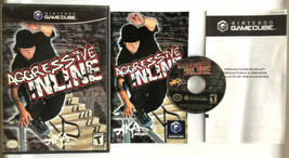 ☆ Aggressive Inline (Nintendo GameCube 2002) COMPLETE in Box Game Manual... - $8.99