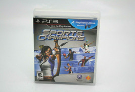 Sports Champions Motion Sony PS3 MOVE Game 2010 Family Fun Playstation 3  Used - $9.79