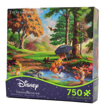 Disney Thomas Kinkade Winnie The Pooh Tigger 750 Pieces Puzzle New With Box - $9.49
