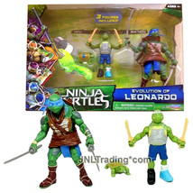 Yr 2014 Teenage Mutant Ninja Turtles TMNT Movie Figure Set EVOLUTION OF ... - $59.99