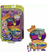 Polly Pocket Corgi Cuddles Compact Pet Hotel Theme Micro Polly Shani Dol... - $39.99