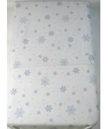 Ralph Lauren Blue Snowflakes on White Pillowcases Standard - $29.00