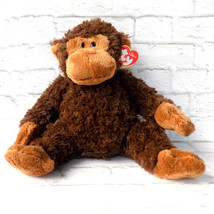 Ty Classic Monkey Plush Bungle New With Tags Chimp Stuffed Animal Brown  - $19.79