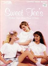 Sweet Tee's Fashion Tops Leisure Arts Leaflet 1205 Using T-SHIRTS - $3.00