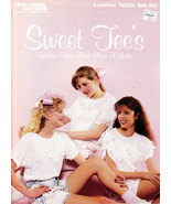 SWEET TEE'S FASHION TOPS  LEISURE ARTS LEAFLET 1205 USING T-SHIRTS - $3.00