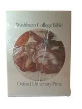 Washburn College Bible King James Oxford University w cover RARE new sea... - $593.99