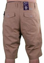 LRG Support Network True Straight Cotton Brown Shorts 30 NWT image 4
