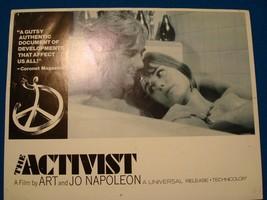 THE ACTIVIST Michael Smith Lesley Toplin Original Lobby Card! #2 - $3.79