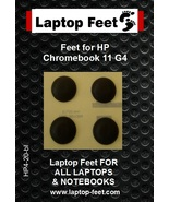 Laptop Rubber Feet for HP Chromebook 11 G4 education compatible kit (4pc... - $12.00