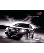 2008 Audi S4 S5 S6 S8 RS4 sales brochure catalog US 08 RS 4 - $11.99