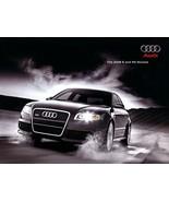 2008 Audi S4 S5 S6 S8 RS4 sales brochure catalog US 08 RS 4 - $11.99