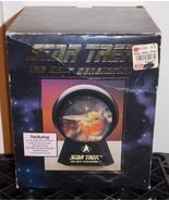 1993 Star Trek Next  Generation USS Enterprise Lighted Musical WaterGlob... - $69.99