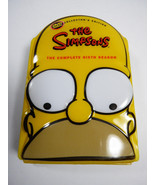The Simpsons Complete sixth Season 6th Collectors Edition Yellow Head Ca... - $27.72
