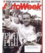 AutoWeek September 8, 2008 PHIL HILL memorial magazine - $7.99
