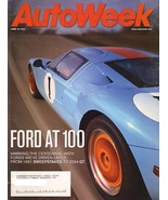 AutoWeek June 16, 2003 FORD AT 100 anniversary magazine - $8.00