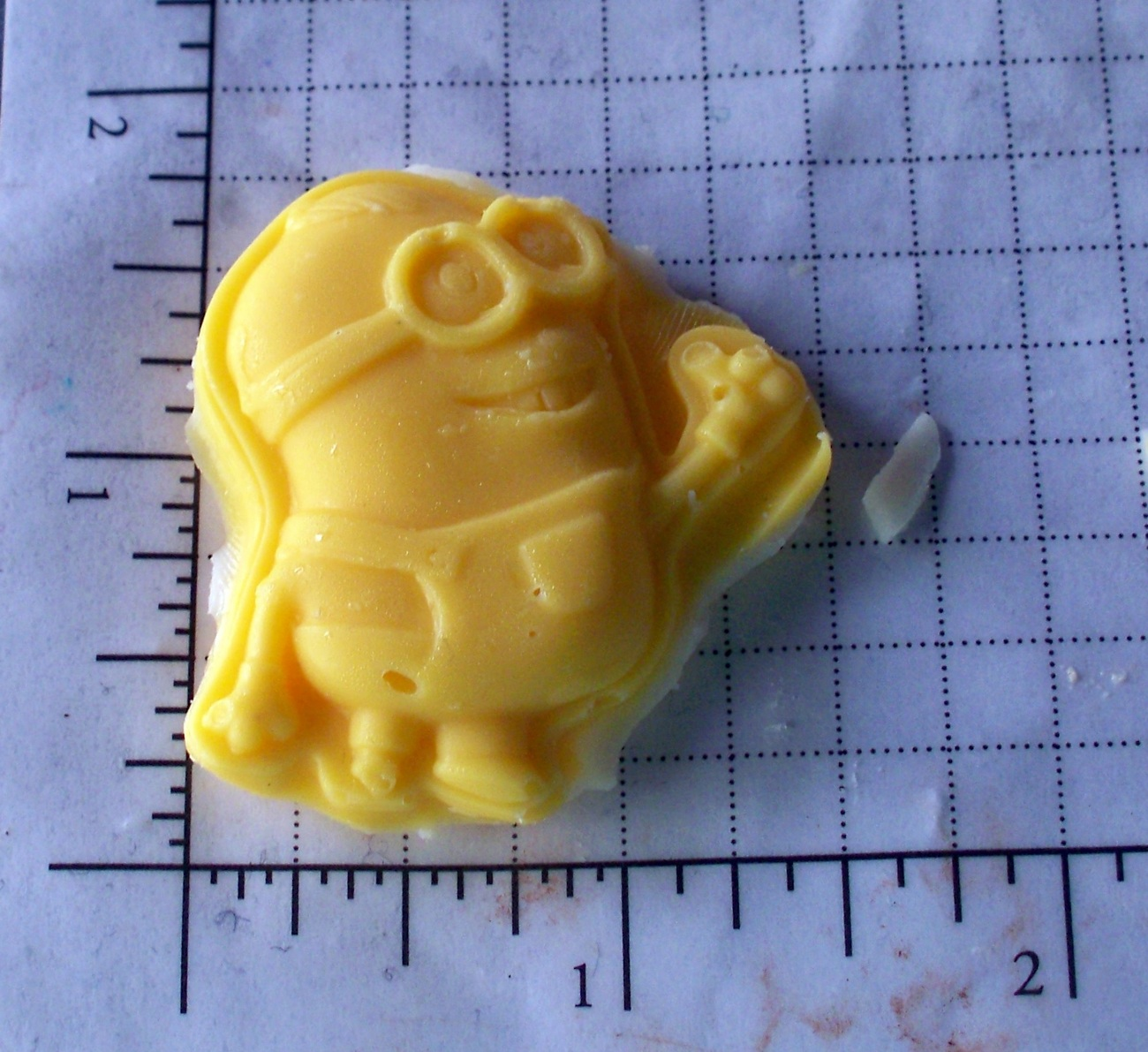 Minion- Candy Soap Cake - Silicone Mold