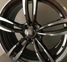 "Bmw F10 M5 20"" Style Wheel Black Machine Face - $880.11"