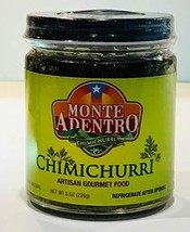 """Montes Adentro""""Chimichurri"""" - Artisan Gourmet Chimichurri - 8 oz jar"""