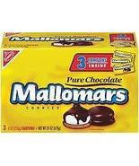 Mallomars Pure Chocolate Cookies 8 ounce box 3 Counts Inside One Box - $32.23