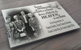 Personalised large white wooden plaque sign, In loving memory. - $25.63