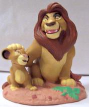 Disney Mufasa & Simba Lion King 1994 Figure - $14.50