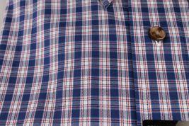 New Men's Kirkland Non Iron Casual Button Down W/ Collar Short Sleeve Shirt SZ M image 3