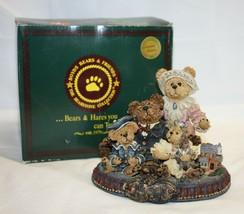 Boyds Bears Resin GARY TINA MATT & BAILEY Resin Limited Edition Bearston... - $29.69
