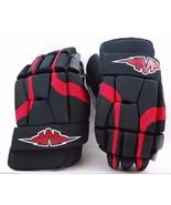 "Mission Hockey Soldier Senior Protective Ice/Roller Hockey Glove 15"" Blk... - $56.99"