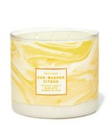 Bath & Body Works Sun Washed Citrus 3 Wick Scented Candle 14.5 oz - $27.10