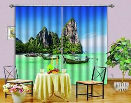 3D Tropical 0592 Blockout Photo Curtain Print Curtains Drapes Fabric Window UK - $145.49+
