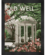 "North Carolina at Chapel Hill ""Old Well"" 13 x 16 Art Deco Framed Print  - $39.95"