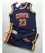 Youth Cleveland Cavaliers #23 LeBron James Blue basketball suit.jpg - $45.99