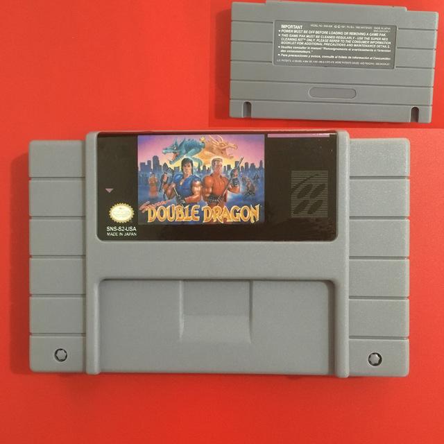 Super Double Dragon SNES Super Nintendo Video Game USA Version for sale  USA