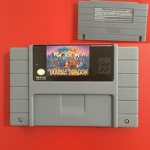 Super Double Dragon SNES Super Nintendo Video Game USA Version - $14.49