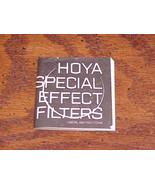 Hoya Lenses Special Effects Filters User Instructions, no. SP 8007E - $5.95