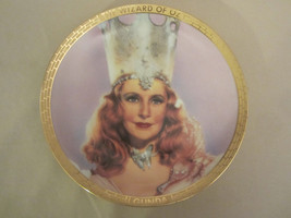 GLINDA collector plate WIZARD OF OZ PORTRAITS Thomas Blackshear GOOD WITCH - $62.84