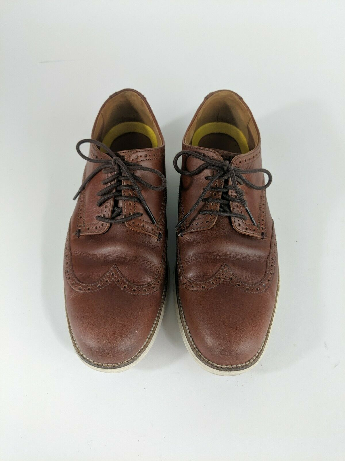 Cole Haan Original Grand Wingtip Oxford Chestnut Brown Size 10 Style C22793
