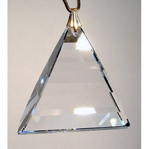 Swarovski 35mm Crystal Pyramid Dangle Prism image 1