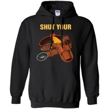 Shut Your Cock Holster Gun Cowboy Funny Graphic Sweatshirt S-5XL - $39.55