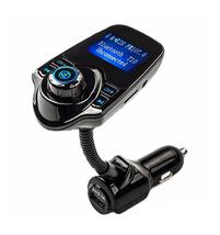 Bluetooth FM Transmitter Wireless Car Kit + Free 32GB Micro SD Card - £30.94 GBP