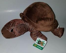 "Cuddlekins Wild Republic Brown Tortoise 12"" Plush Turtle Stuffed Animal ... - $17.77"
