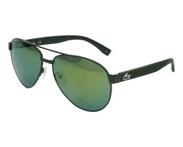 LACOSTE Men's Pilot Sunglasses L185S 001 Matte Green L185 60mm Large NEW... - $163.30