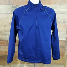 Champion Pullover Sweatshirt Men's Long Sleeve Blue Size M D30 - $15.83