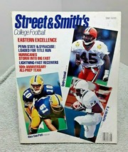 Street & Smith 1992 College Football Magazine Ismali Van Pelt McDuffie GOOD - $7.91