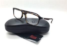 Ray Ban Unisex Carey Cuadrado Nuevo Gafas Rojo Negro 7055 2012 53 Plástico - $69.97