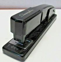 Vintage Swingline Stapler Black 444 USA Office Desktop - $14.05