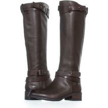 Franco Sarto Canary Knee Hgh Zip Up Boots 284, Oxford, 5.5 US / 35.5 EU - $54.71