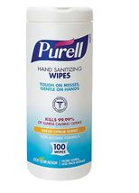 Purell® Hand Sanitizing Wipes, Fresh Citrus Scent, 100/Pack (9111-12), s... - $50.00