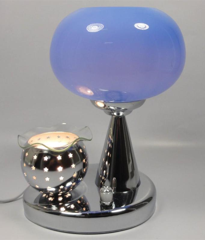 Primary image for Blue  Electric Oil  or Tart Warmer and Lamp